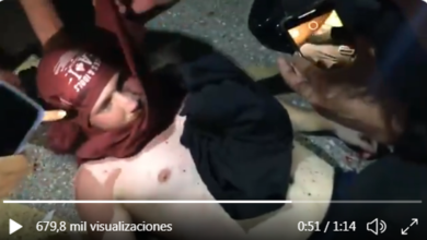 Photo of VIDEO: Un manifestante recibe un balazo en la cabeza en medio de las fuertes protestas en Kenosha
